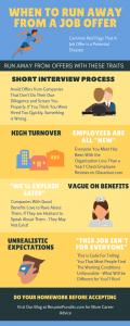 job advice infographic